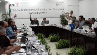 Aprueban coalición 'Todos por Chiapas' conformada por PRI, PVEM y Nueva Alianza