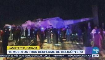 Cienfuegos Zepeda se reúne con deudos de accidente de helicóptero