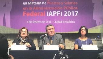 Persiste marginación de mujeres en cargos de mando dentro del Gobierno Federal