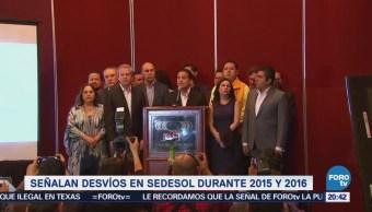 Coalición 'Por México al Frente' señalan desvíos en Sedesol