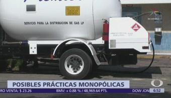 Cofece investiga posibles prácticas monopólicas de distribuidoras de gas L.P.