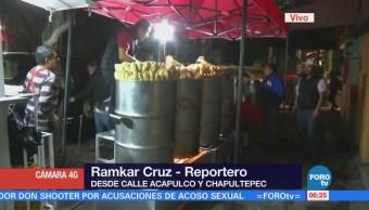Comerciantes alistan tamales para celebrar la candelaria