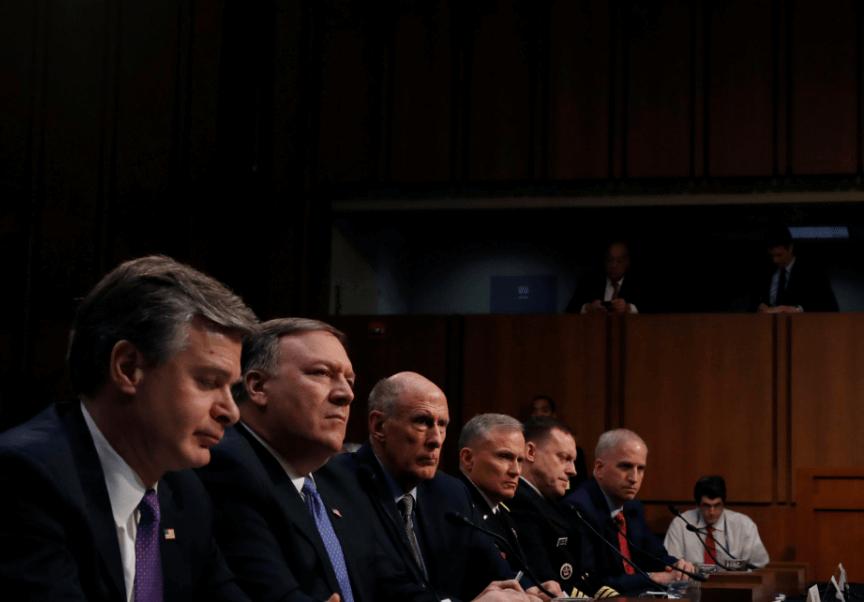 Líderes de seguridad de Estados Unidos. (Reuters)