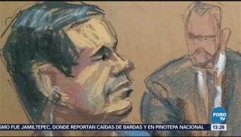 Compareció Joaquín Chapo Guzmán Corte Federal De Brooklyn