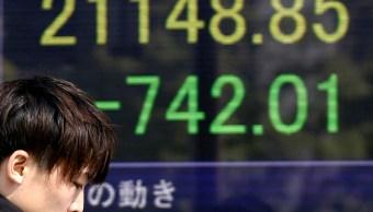Confianza de inversionistas lleva la Bolsa de Tokio a la baja