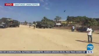 Consternación Santiago Jamiltepec Fallecidos Tras Desplome Helicóptero Militar