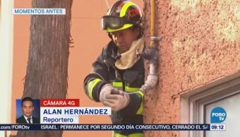 Controlan fuga de gas en Lomas de Virreyes, CDMX