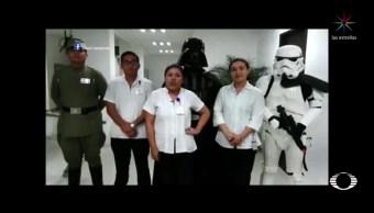 Crean campaña contra el VIH con personajes de Star Wars