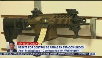 Crece Debate Control Armas Eu
