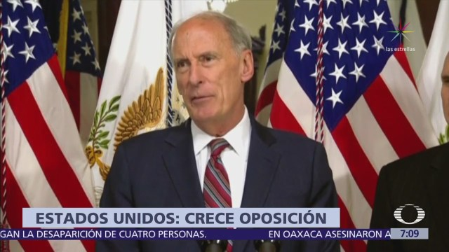 Dan Coats considera se podría fortalecer el atractivo de la oposición en México
