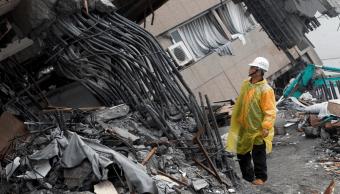 Danos por terremoto de 6.4 grados en Taiwán. (AP)
