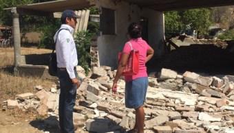 sismo 16 febrero dana 16 mil casas oaxaca