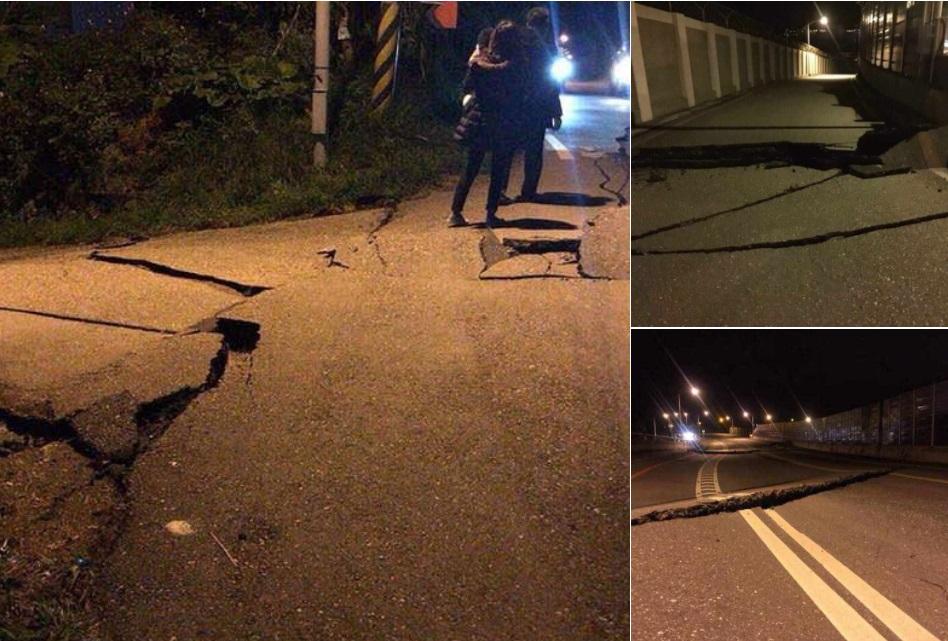 Sismo en Taiwán provoca varios daños y personas atrapadas