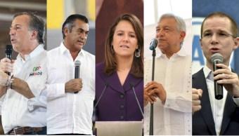se alistan candidatos primer debate presidencial