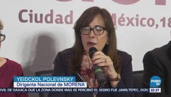 Define Morena Candidatos Plurinominales Senado