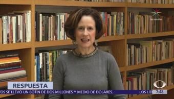 Denise Dresser señala que AMLO no entiende la libertad de expresión