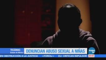 Denuncian abuso sexual a niñas en Tecámac
