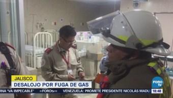 Desalojan clínica del IMSS por fuga de gas en Jalisco