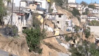 Constructora deberá reparar daño tras deslave en Tijuana, si resulta responsable