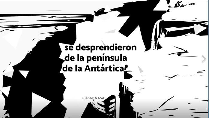 #Despejandodudas Antártica Genaro Lozano Sufre Cambio Climático