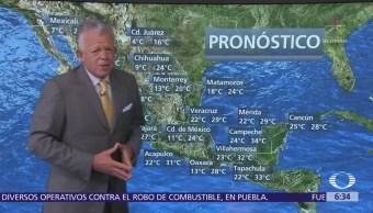 Despierta Tiempo Prevén Lluvias 19 Estados México Despierta Con Tiempo