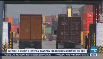 Destacan avances de la negociación del acuerdo comercial con la UE