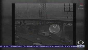 Detienen a 3 hombres por robo a transporte en el Valle de México