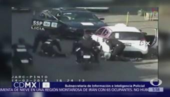 Detienen a asaltantes de estética en la delegación Venustiano Carranza