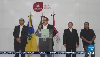 Detienen a cuatro policías municipales por desaparición de italianos en Jalisco