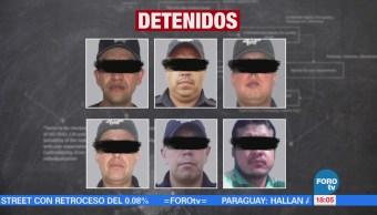 Detienen a policías municipales por desaparición forzada en Edomex