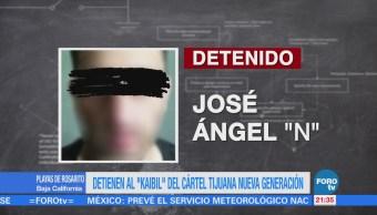 Detienen al 'El Kaibil' del Cártel Tijuana Nueva Generación