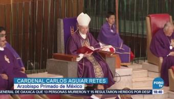 Cardenal Aguiar Retes Llama Resolver Problemas Mediante Arrepentimiento