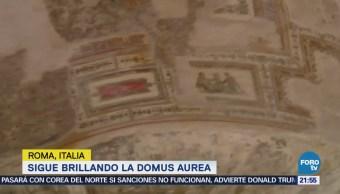 Domus Aurea, único palacio imperial de la antigua RomaDomus Aurea, único palacio imperial de la antigua Roma