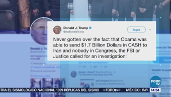 Donald Trump Critica Fbi Investigar Pago Obama Irán