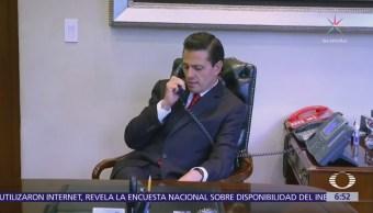 Donald Trump y Enrique Peña Nieto sostuvieron conversación telefónica