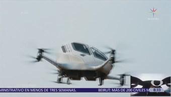 Dron China Realiza Primer Vuelo Tripulado