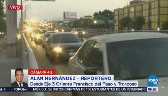 Eje 3 Oriente Franciscopaso Presenta Buen Avance Vehicular