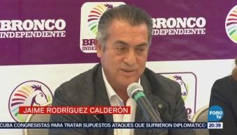 'El Bronco' critica a AMLO por aceptar gente de otros partidos
