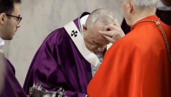 El papa Francisco preside ceremonia del Miércoles de Ceniza