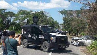 mueren dos delincuentes enfrentamiento policias tabasco