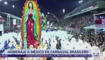 Escuela de samba de Sao Paulo rinde homenaje a la cultura mexicana