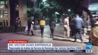 Especialista de UNAM explica actividad sísmica de los últimos días en México