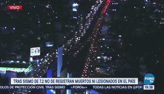 Estado De México Registra Saldo Blanco Tras Sismo 7.2 Grados