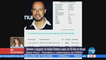 Esteban Loaiza enfrentará corte en EU tras acusación por drogas