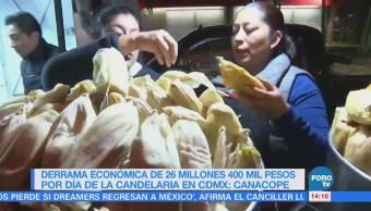 Estiman Derrama 26 Millones 400 Mil Pesos Día Candelaria