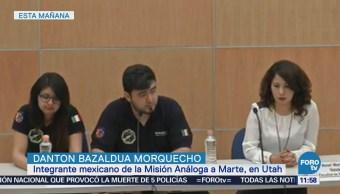 Estudiantes mexicanos terminan con éxito misión simulada a Marte