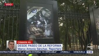 Exhiben obras de reclusas de Santa Martha en Paseo de la Reforma