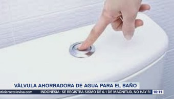 Extra Extra: Válvula ahorradora de agua para el baño