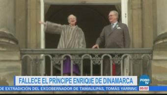 Fallece el príncipe Enrique de Dinamarca