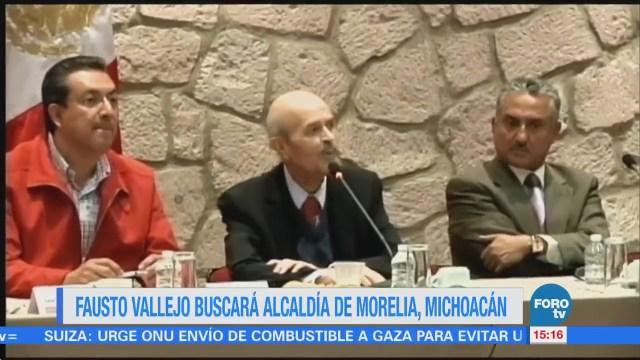 Fausto Vallejo buscará la alcaldía de Morelia